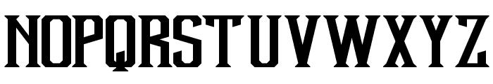 Debute Font UPPERCASE