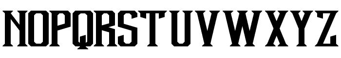 Debute Font LOWERCASE