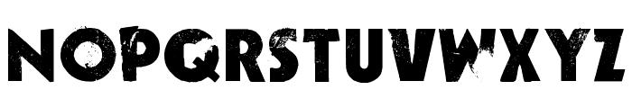 Decade Font UPPERCASE