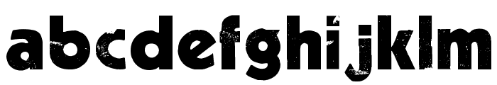 Decade Font LOWERCASE