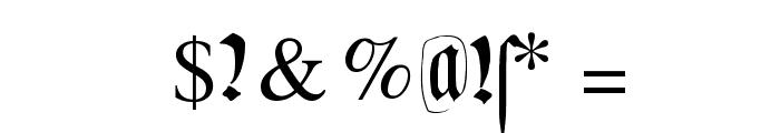 DecadentaFrax Font OTHER CHARS