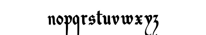DecadentaFrax Font LOWERCASE