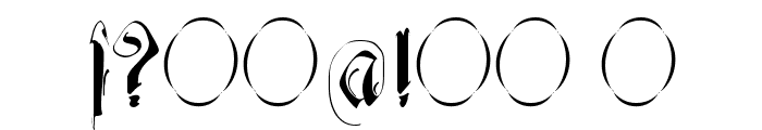 Decadentia Font OTHER CHARS