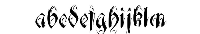 Decadentia Font LOWERCASE
