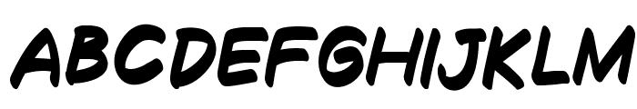 Decalk Bold Italic Font UPPERCASE