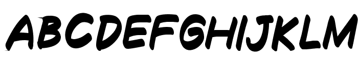 Decalk Bold Italic Font LOWERCASE