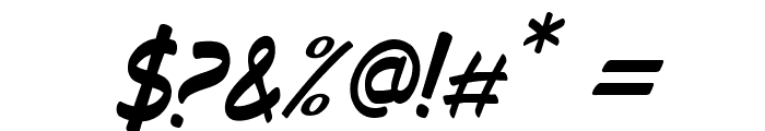 Decalk Italic Font OTHER CHARS