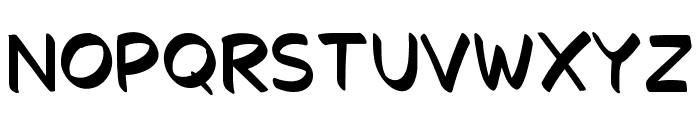 Decalk Font UPPERCASE