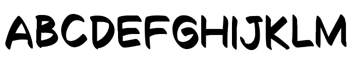 Decalk Font LOWERCASE