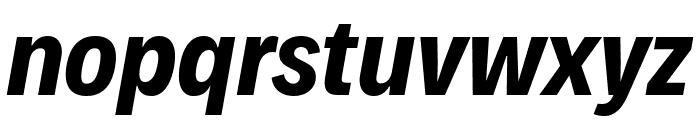 Decalotype Bold Italic Font LOWERCASE