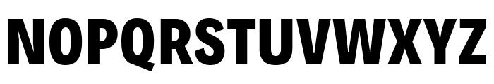 Decalotype ExtraBold Font UPPERCASE