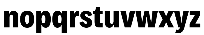 Decalotype ExtraBold Font LOWERCASE