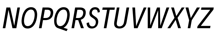 Decalotype Italic Font UPPERCASE