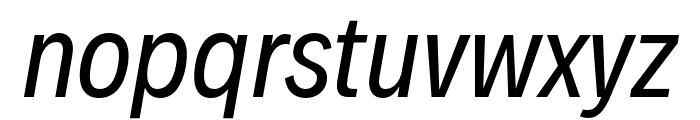 Decalotype Italic Font LOWERCASE