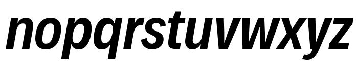 Decalotype SemiBold Italic Font LOWERCASE