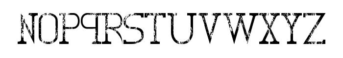 Decas II - LJ-Design Studios #2 Font UPPERCASE