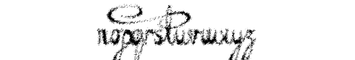 Decayed in Sixty Seconds Font LOWERCASE
