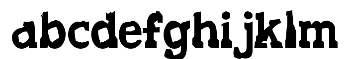 Decaying Kuntry Font LOWERCASE