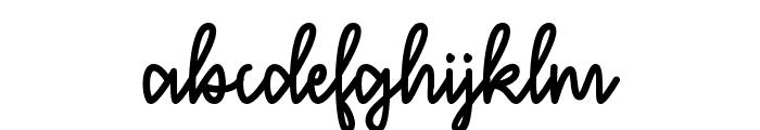 December Sky Font Font LOWERCASE