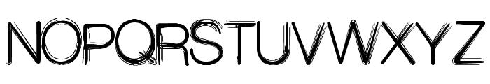Decibel Font UPPERCASE