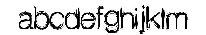 Decibel Font LOWERCASE