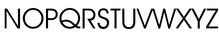 Decker Font UPPERCASE