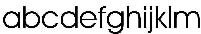 Decker Font LOWERCASE