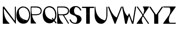 Deco Font UPPERCASE