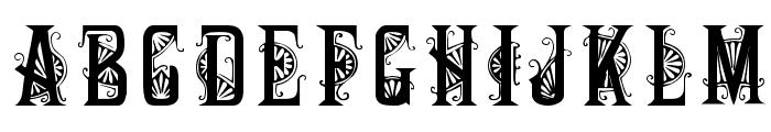 DecoCaps Font LOWERCASE