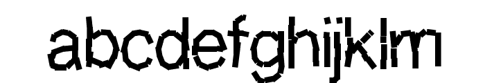 Decompositionphase1 Font LOWERCASE