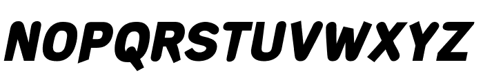 DeconStruct-BlackOblique Font UPPERCASE