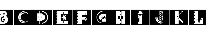 DeconstructionCaps Font UPPERCASE