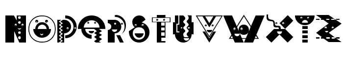 DeconstructionCaps Font LOWERCASE