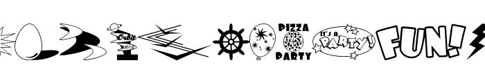 Decorative Elements JL Font LOWERCASE