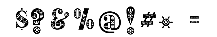 Decorative Font OTHER CHARS