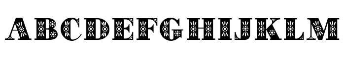Decorative Font UPPERCASE