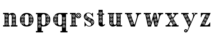 Decorative Font LOWERCASE