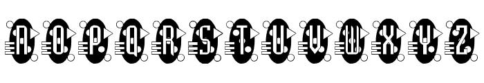 Decorette Font UPPERCASE