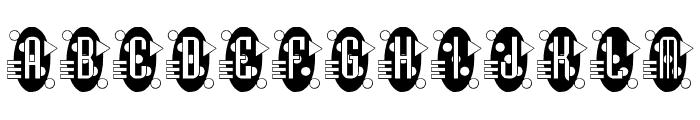 Decorette Font LOWERCASE