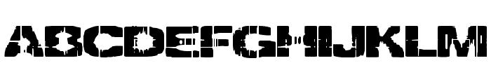 Decrepit [BRK] Font UPPERCASE