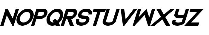 Dedecus Bold Italic Font UPPERCASE