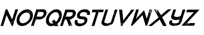DedecusPutro-Italic Font UPPERCASE