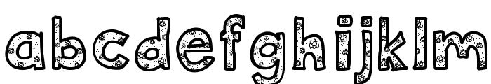 DeeDeeFlowers Font LOWERCASE