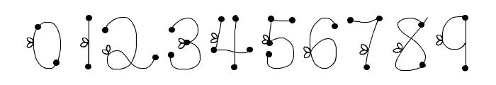 DeeDeeSquigglesAndTies Font OTHER CHARS