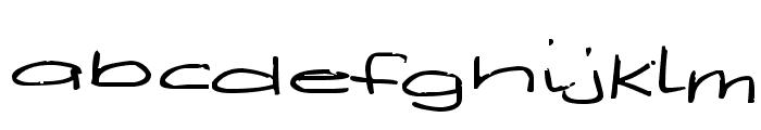 Deegey Font LOWERCASE