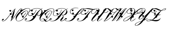 Deep Lov Font UPPERCASE