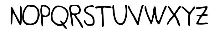 Deep Font UPPERCASE