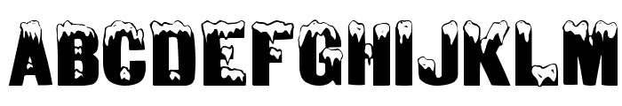 DeepFreeze Font UPPERCASE