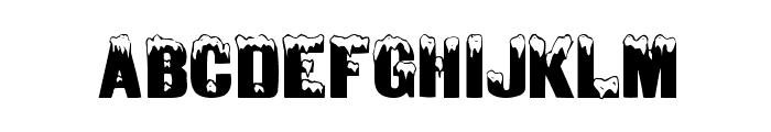 DeepFreeze Font LOWERCASE