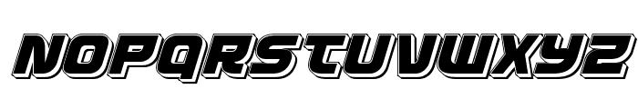 Defcon Zero Punch Italic Font UPPERCASE